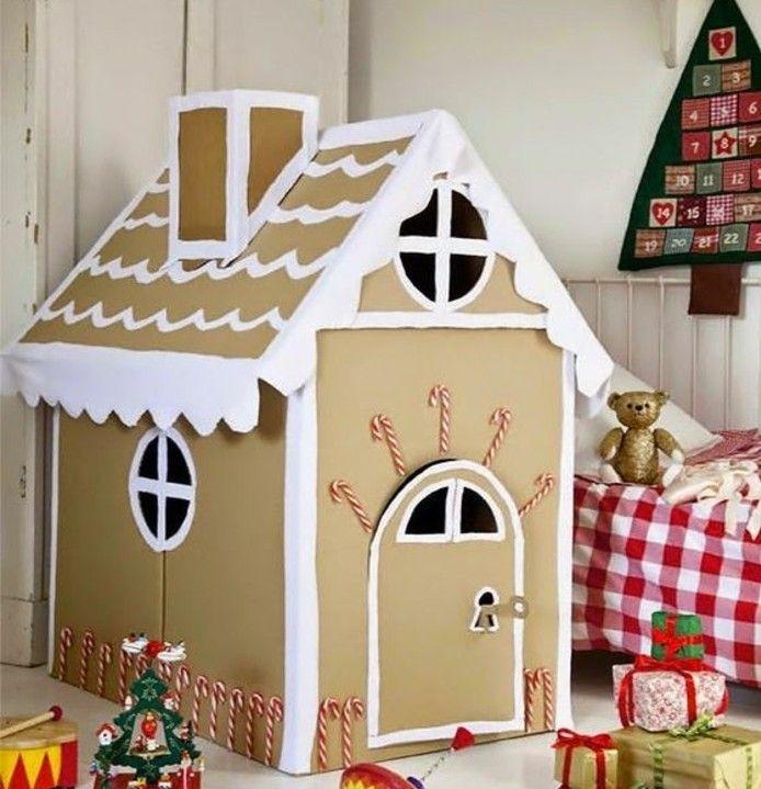 comment fabriquer une cabane en carton tuto et plusieurs mod les cabane carton pinterest. Black Bedroom Furniture Sets. Home Design Ideas