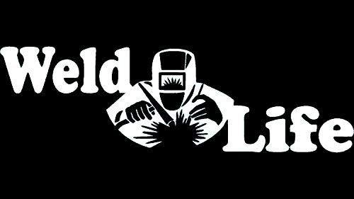 A1123 Weld Life Welder Decal Sticker – Lovely Novelty