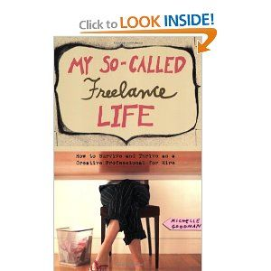 This book was witty and fun. It gives you great tips on how to manage a freelance life. The only thing... it is from a freelance writers life. I am waiting for a book equally as good to be all about the designer's life. It's still a must read.