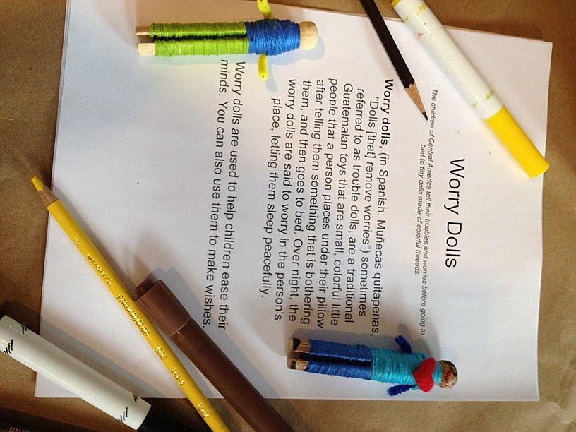 Worry Doll Yw Ideas Worry Dolls Art Therapy