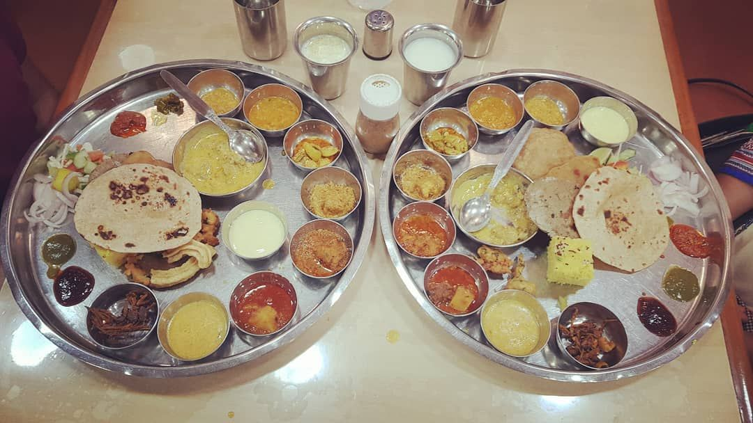 We somehow managed to finish every item in this Rajasthani thali with its 29 unique, bottomless, dishes. It was extra special because the staff gave us each a rose for finishing our meal, not wasting a single item and in turn helping to ensure that there is food to donate to hungry children at the end of the day.
