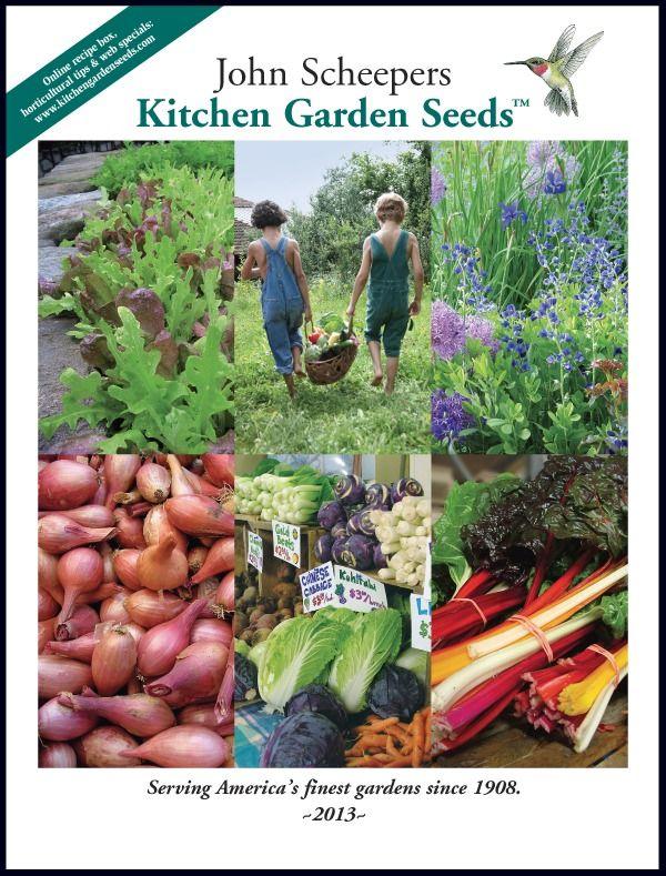 John Scheepers Kitchen Garden Seeds Catalog