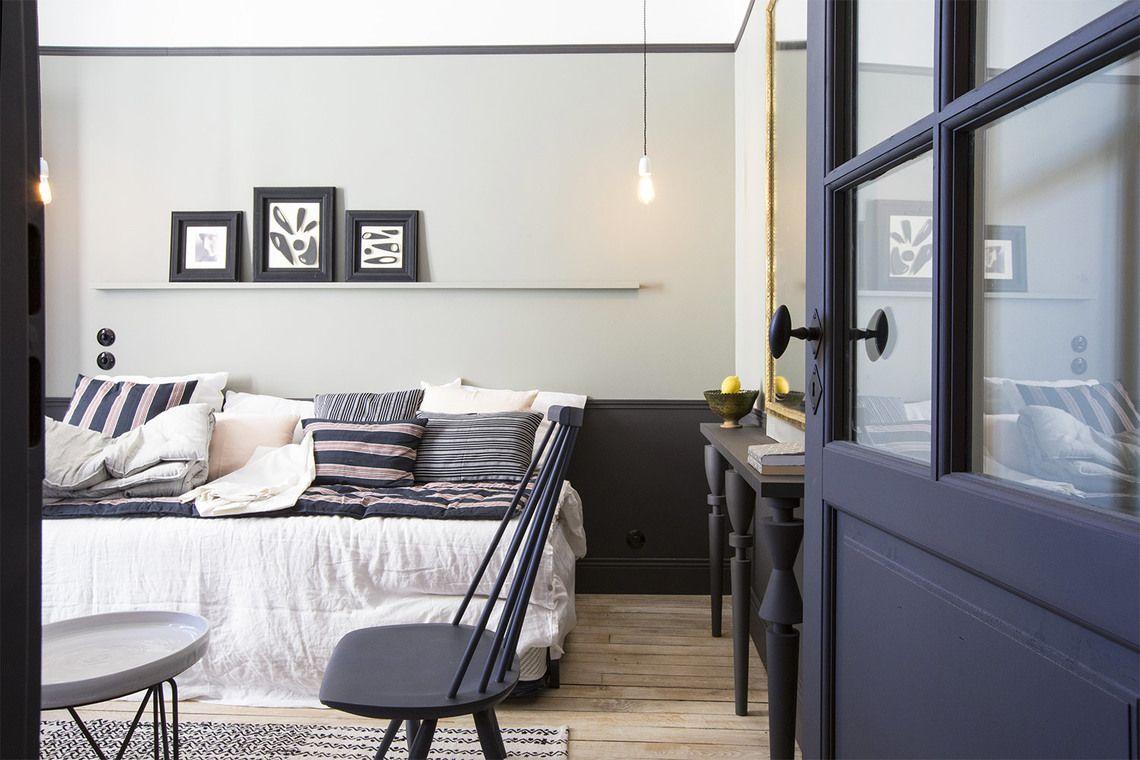 Appartement Paris Rue Lentonnet 6 Interieur Maison Studio Meuble Location Studio
