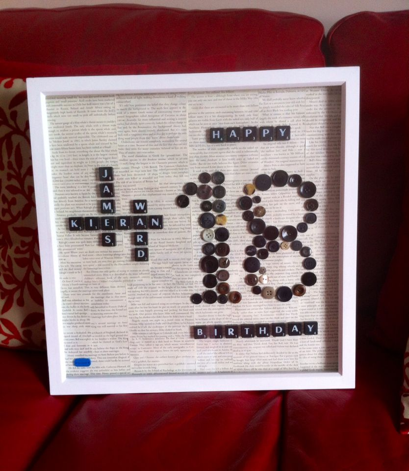 18th Birthday Basket For My Son S Birthday Filled With: My Sons Personalised 18th Birthday Frame