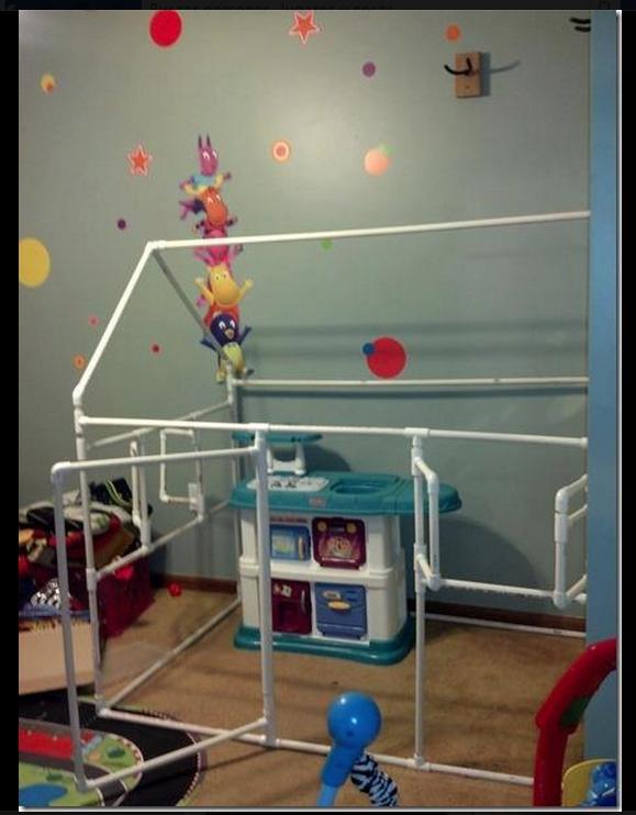 Estructura pvc casa para ni os cosas que tengo que hacer - Decoracion hecha en casa ...