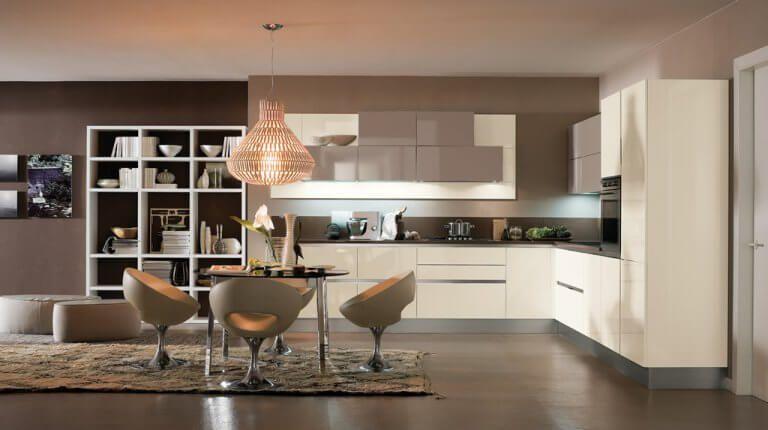 Open Kitchen Color Schemes