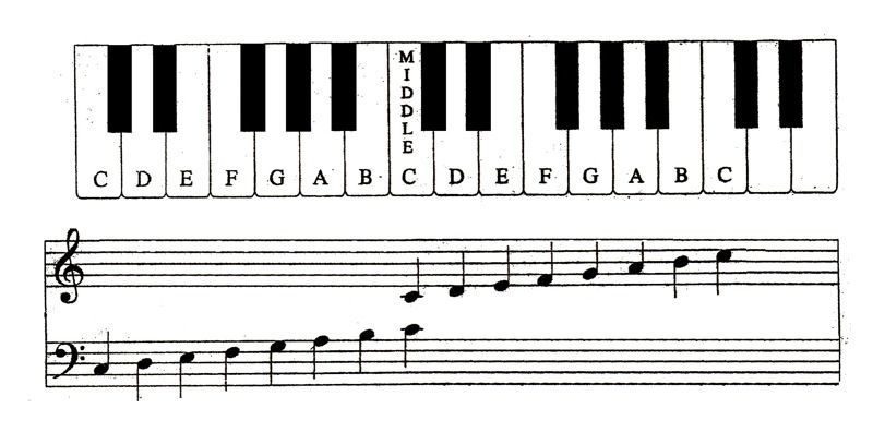 Learn To Read Piano Music Quickly With These Acronyms Piano