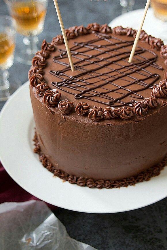 Torta De Chocolate Con Malta Queques De Chocolate Bolo De