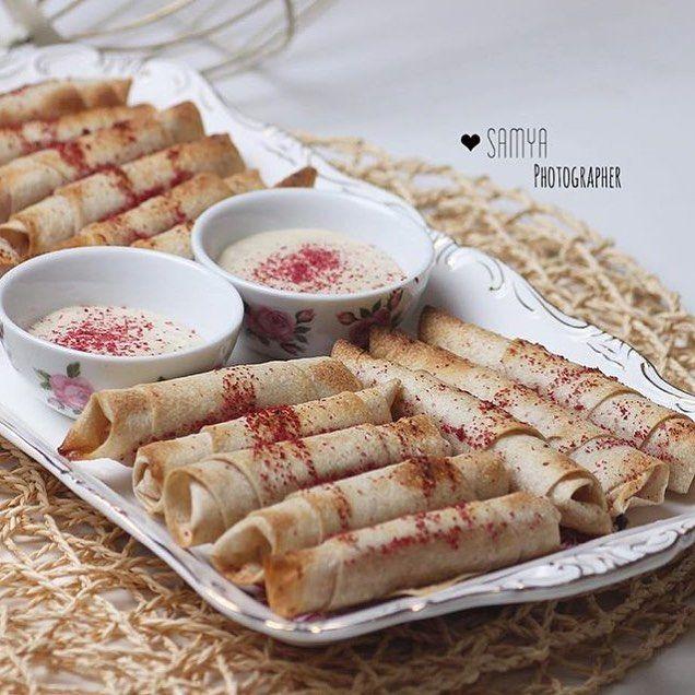 طريقة عمل اصابع المسخن بصوص الطحينة The Fingers Of The Heater With Tahini Sauce Middle East Recipes Food Recipes