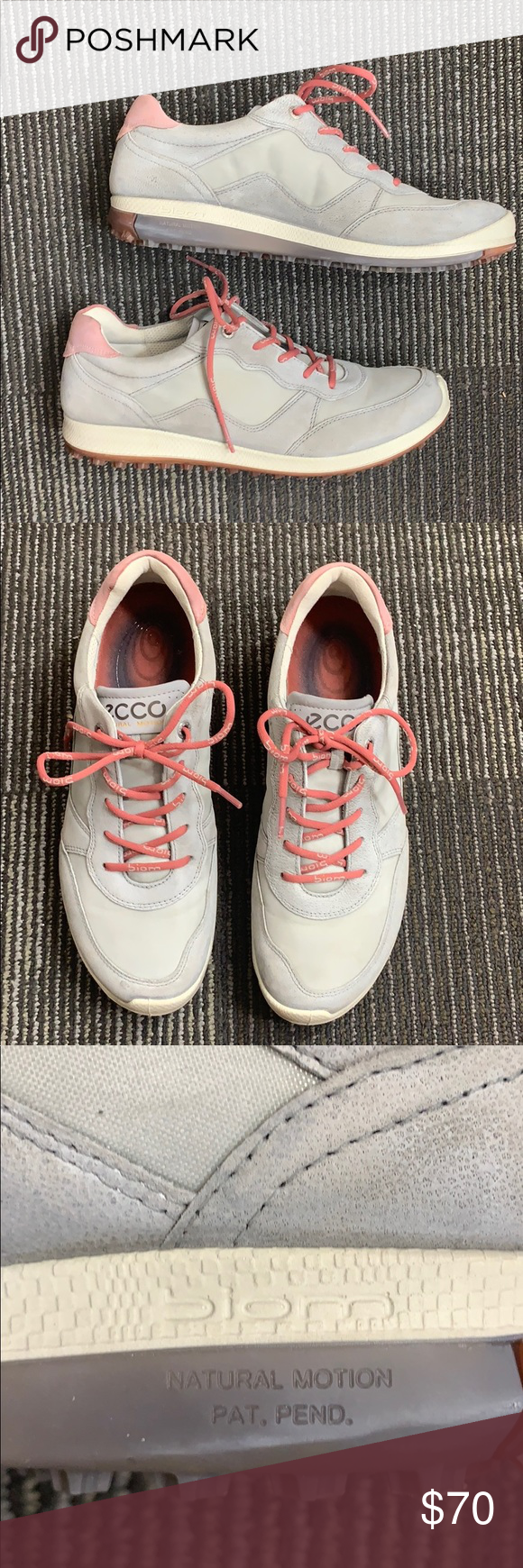 Gently used Ecco women's golf shoes
