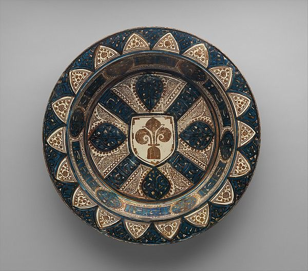 Deep Dish Date Ca 1430 Geography Made In Probably Manises Valencia Spain Culture Spanish Medium Tin Glazed Antique Ceramics Pottery Painting Ceramic Art