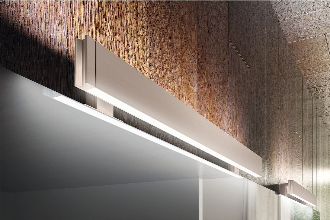Anbauleuchte, LED 1153, Lichtaustritt oben und unten IP 44