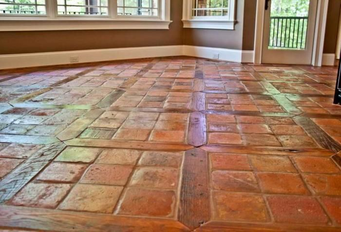 French Terracotta Red Tiles 6 Quot Flooring With Square And