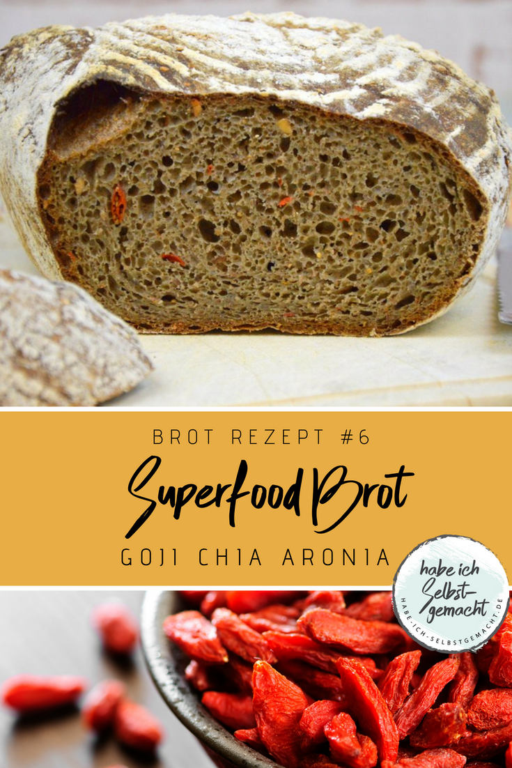 BROT#10 Superfood Brot