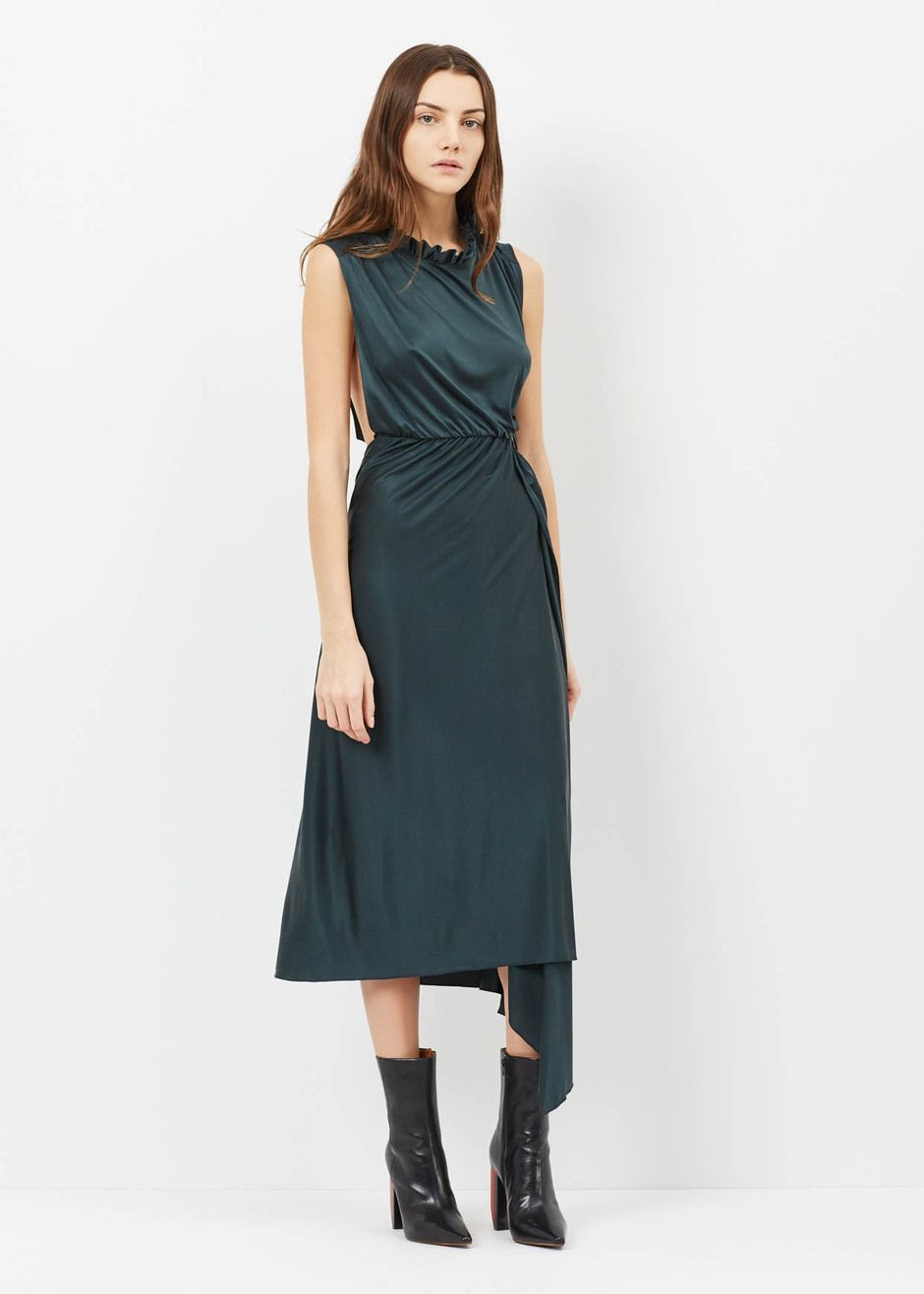 Vetements Wrap Around Dress (Green)