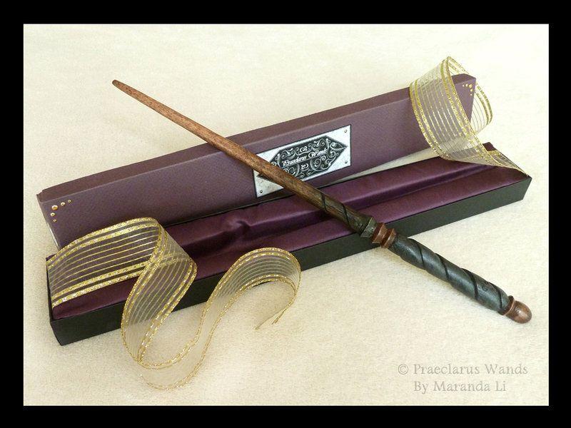 Maranda makes amazing wands! - Handmade Wand \'\'Praeclarus\'\' ML ...