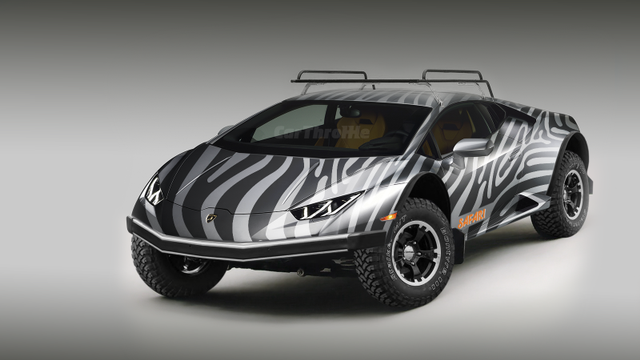 These Off-Road Lamborghini Huracan Renders Are Just Too Much | 오프 ...