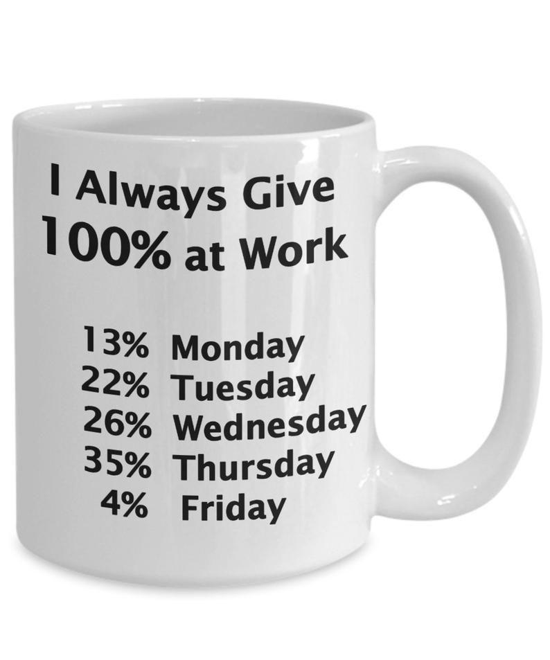 Funny work mug Gift for Coworker Funny Office Mug Gift for | Etsy