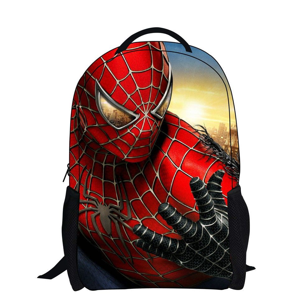 new fashion 2015 cartoon backpack with zipper fashion style boy ...