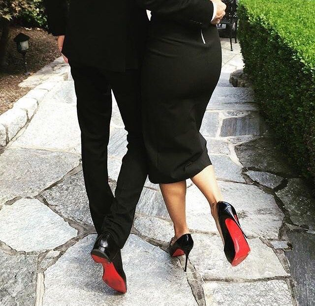 b611c9873ecf His and hers Louboutins