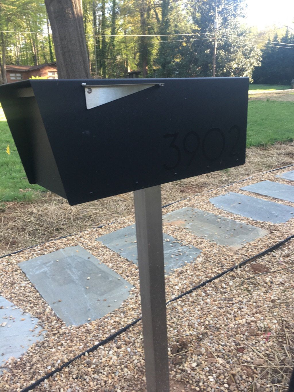 Anthony b vsons design modern mailboxes