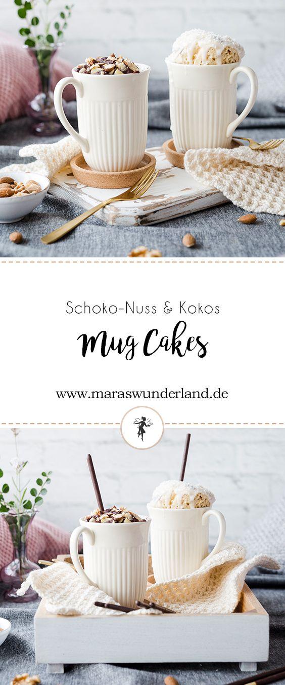 Zweierlei Mikado Mug Cakes #mugcake