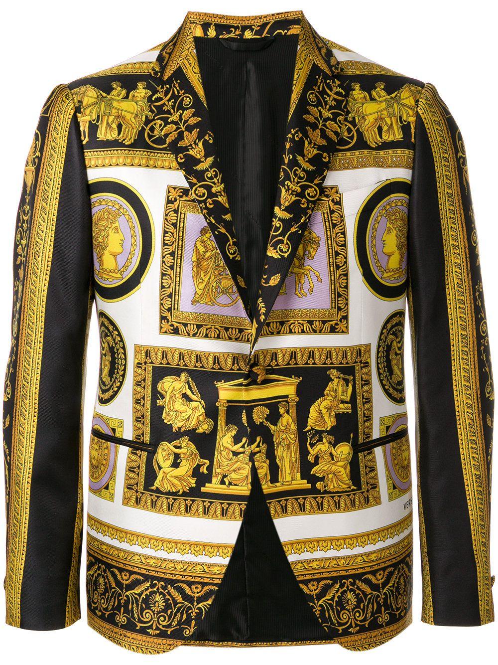 728b988f043d  versace  cloth   Blazer Imprimé, Versace Pour Hommes, Baroque