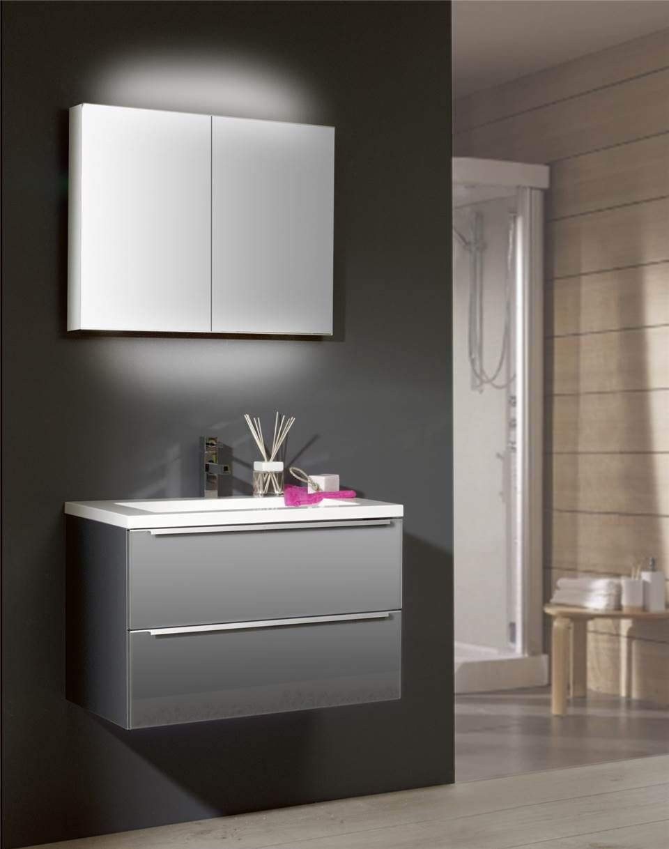 Spiegelkast badkamer met indirect licht Magic | Thebalux ...