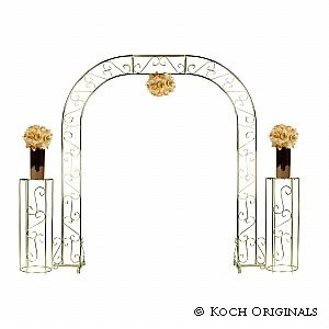 Wedding Arch W Two Columns Extender
