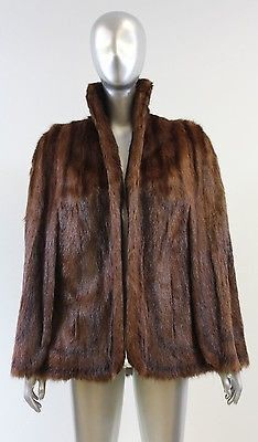 Chinese Mink Stole Preowned Used Vintage Old