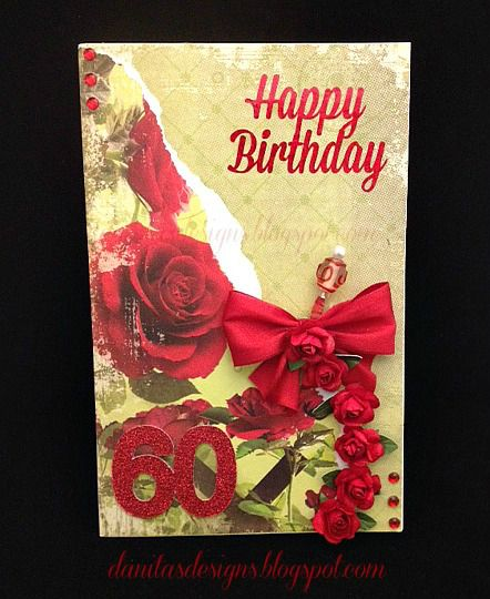 Birthday Card For 60 Year Old Woman 60yearold