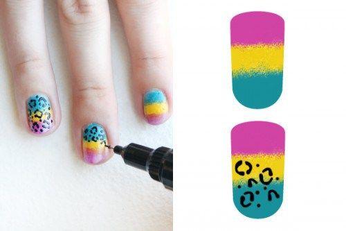 Con un rotulador podrás darle tu toque personal a las uñas.  #tutorial #pasoapaso #uñas #diseño