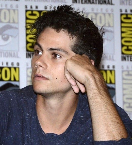 Dylan O'Brien Promoting 'The Maze Runner' at Comic-Con ...