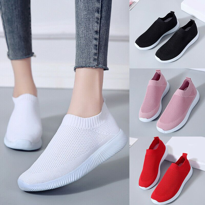Women Sock Athletic Shoes Sneakers Mesh Casual Shoes