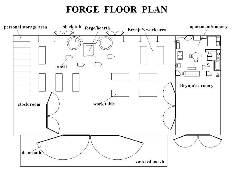 Plan Foyer De Forge : Forge floor plan google search forging pinterest