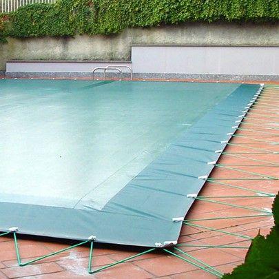 Telo copertura piscina in pvc 400 gr, con occhielli
