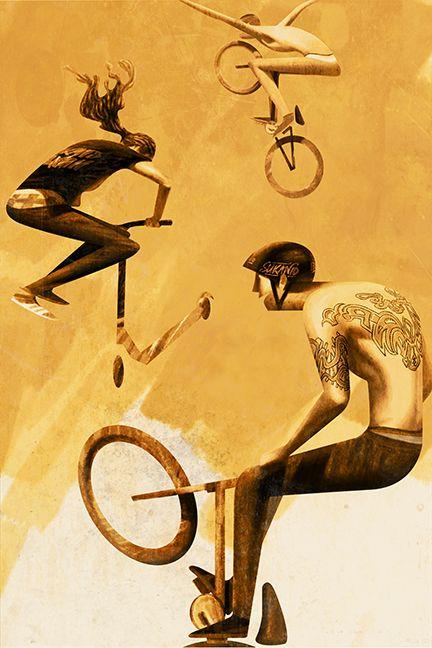 'Boys, Tattoos and Wheels' , made by: Sukanto Debnath
