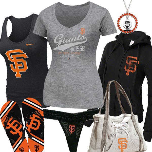 San Francisco Giants Baby Girl Clothes