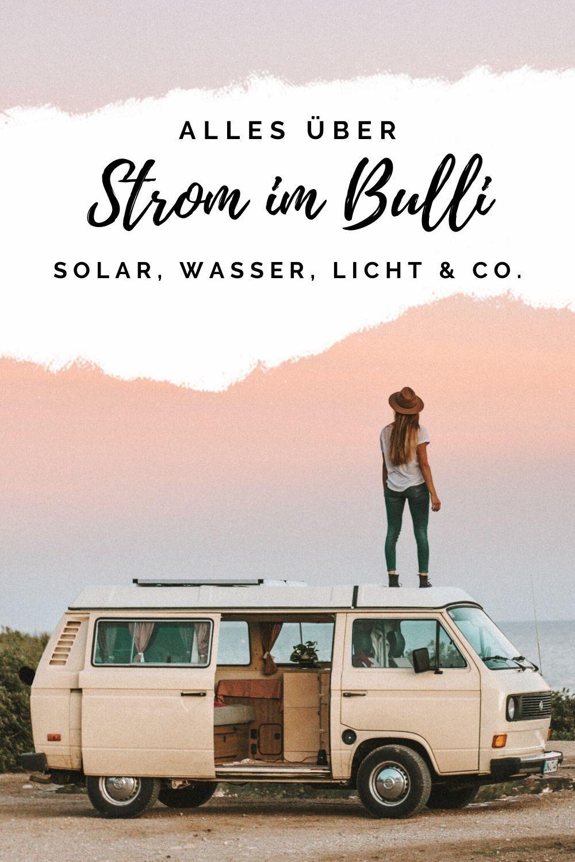 Photo of Strom im Bulli (Solar, Wasser, Licht & Co) — luna lene