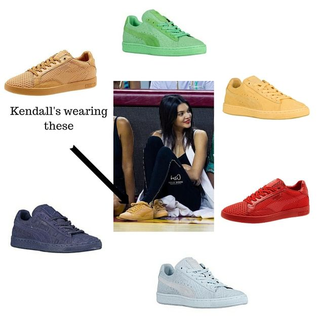 kendall jenner puma sneakers