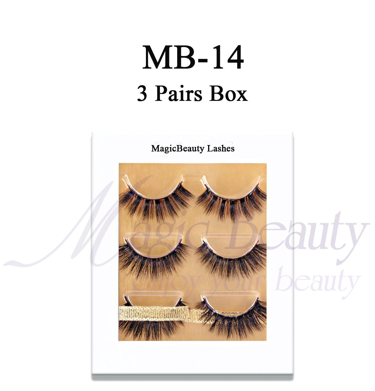 6a0f7624b85 3 pairs magnetic box wih lashes inside Custom lashes box with your own  lashes brand and color you like Email: sale01@magicbeautylashes.com INS: ...