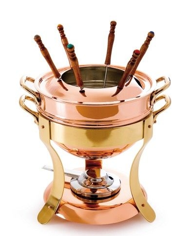 I have a huge love for all things copper and fondue- this would be ...