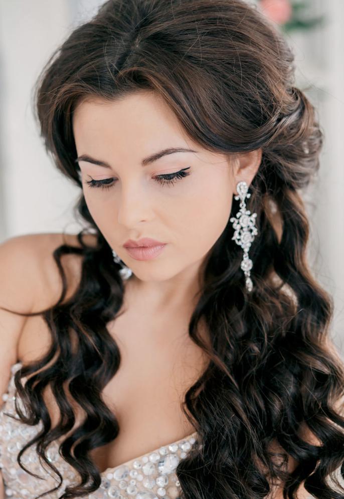 Enjoyable 1000 Images About Bridal Hair On Pinterest Updo Bridal Short Hairstyles For Black Women Fulllsitofus