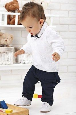 Nr0krt46 Sehr Schöner Anzug Festanzug Babyanzug