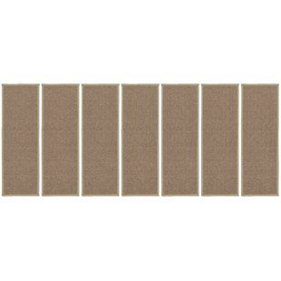 Best Natural Area Rugs Beach Seagrass Carpet Beige Malt Stair 400 x 300