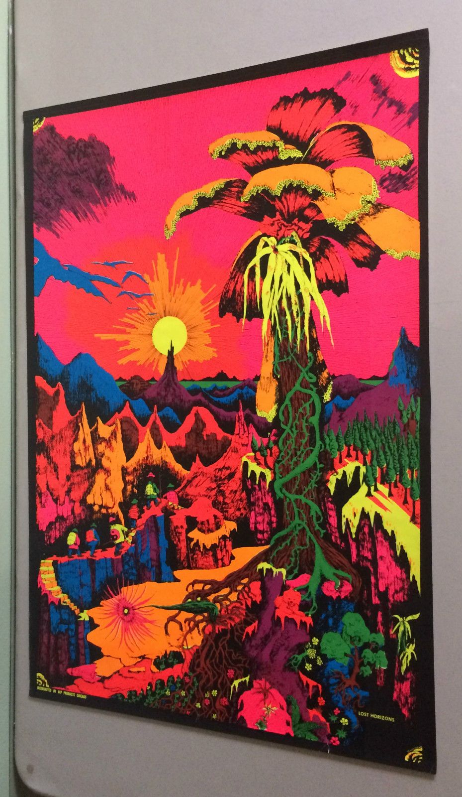 lost horizons original vintage psychedelic poster pin yo on poster my wall id=49078