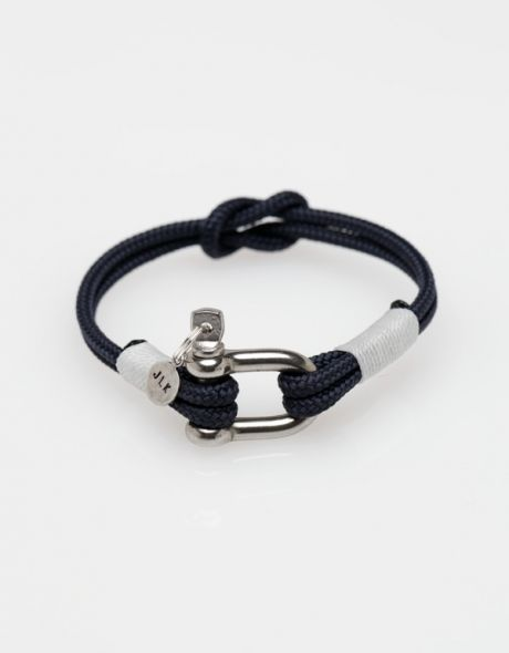 Navy Knotted Shackle