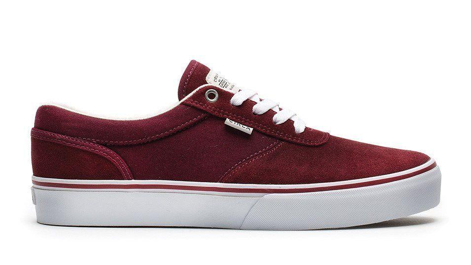 2ac45b8ae3 C1RCA Gravette Pro Shoe Brick Red  White