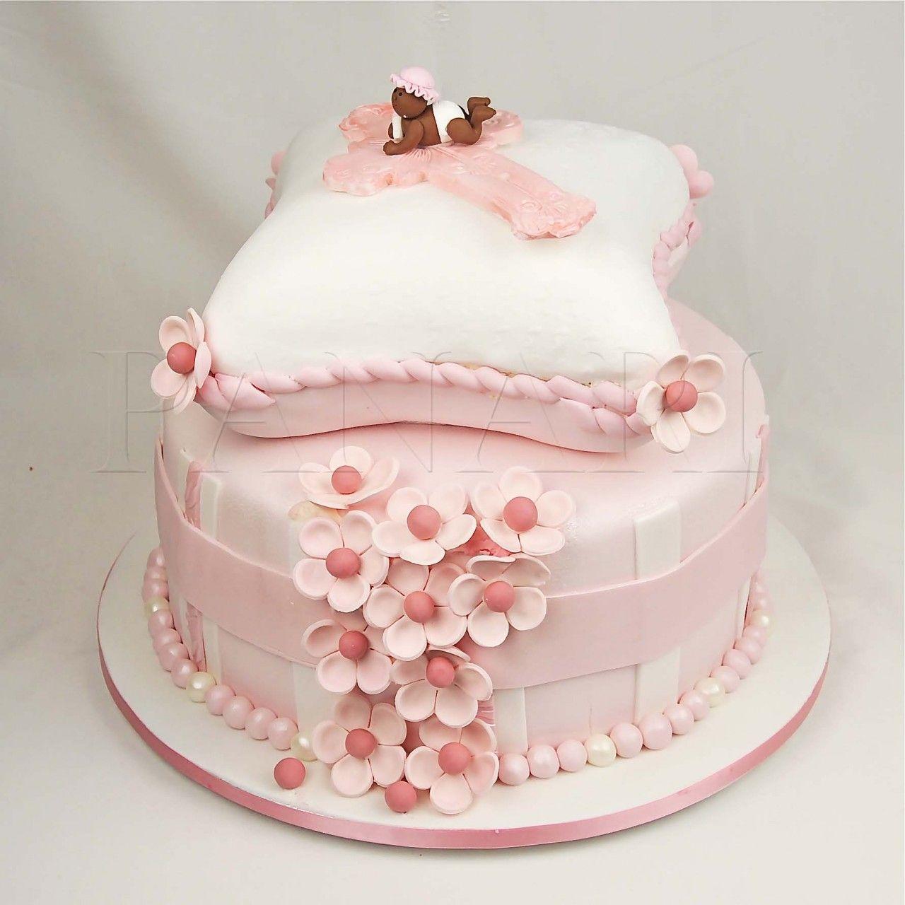 Baby Christening Cake Images : Pillow Christening Cake Cakes Pinterest