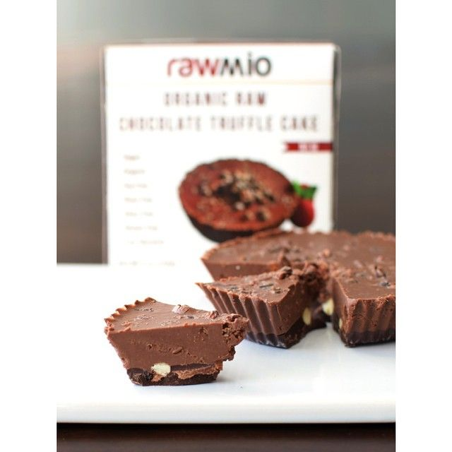 """""""More #Rawmio review love from @godairyfree , this time for our best selling truffle fudge cakes. With seemingly everyone on a different dietary path…"""""""